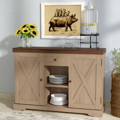 Most Recently Released Philbrick Drawer Servers Intended For Cottage & Country Cabinets & Chests You'll Love In (View 2 of 12)