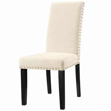 Most Recently Released Richawara Concise Buffet Tables Pertaining To Modway Parcel Dining Upholstered Fabric Side Chair In (View 9 of 30)