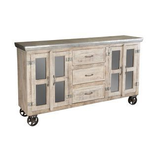 Most Recently Released Taos Canyon Brown And Metal Sideboard (View 14 of 30)