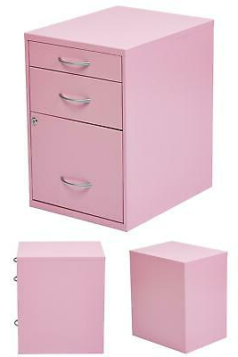 Featured Photo of 3 Drawer And 2 Door Cabinet With Metal Legs