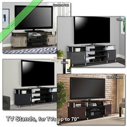 """Most Up To Date 70"""" Tv Stand Console Table Carson Wood Medi Inside Mainor Tv Stands For Tvs Up To 70"""" (View 28 of 30)"""