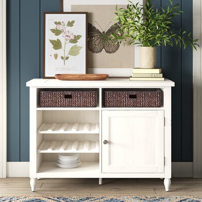 """Most Up To Date Fugate 48"""" Wide 4 Drawer Credenzas Regarding Farmhouse & Rustic Sideboards & Buffets (View 21 of 30)"""