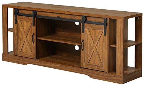 """Most Up To Date Lederman Tv Stands For Tvs Up To 70"""" Pertaining To Sedeta Wood Tv Stand, 70 Inch Industrial Tv Console (View 19 of 30)"""