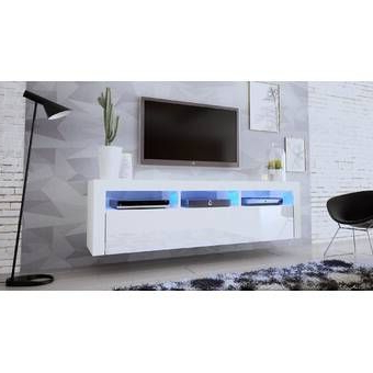 """Most Up To Date Lorraine Tv Stands For Tvs Up To 60"""" Intended For Julius Floating Entertainment Center For Tvs Up To  (View 23 of 30)"""