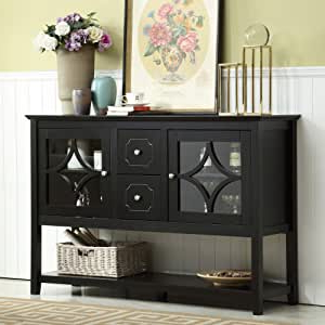 """Most Up To Date Milena 52"""" Wide 2 Drawer Sideboards Within Amazon – Mixcept 52"""" Stylish Practical Sideboard (View 19 of 30)"""