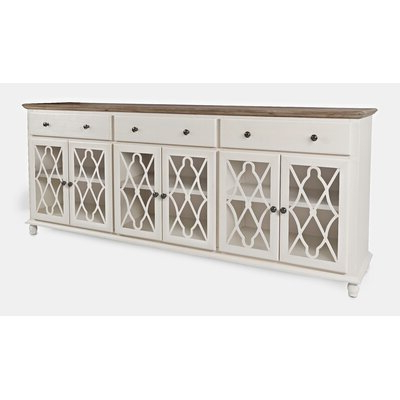 """Most Up To Date Miruna 63"""" Wide Wood Sideboards With Regard To White Credenzas & Sideboards You'll Love In (View 16 of 30)"""