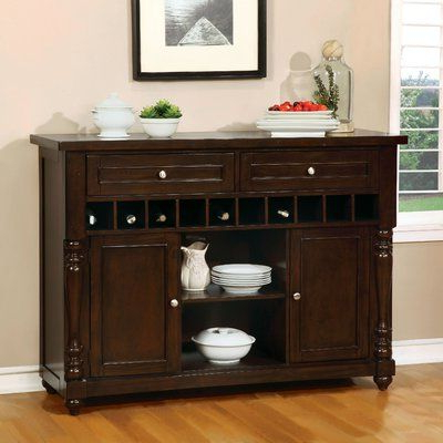 """Most Up To Date Sandweiler 54"""" Wide 2 Drawer Sideboards Intended For Birch Lane™ Calila 54"""" Wide 2 Drawer Sideboard (View 22 of 30)"""