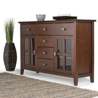"""Most Up To Date Shop Irondale Acacia Wood 62 Inch Sideboard – Overstock In Fahey 58"""" Wide 3 Drawer Acacia Wood Sideboards (View 6 of 30)"""