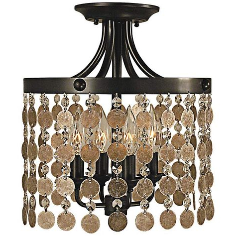 """Naomi Collection 12"""" Wide Ceiling Lightframburg Within Best And Newest Naomi (View 5 of 30)"""