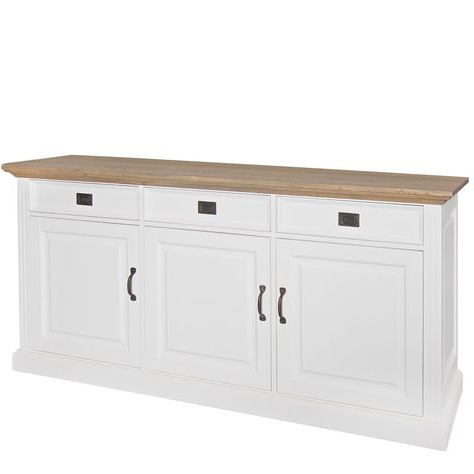 New England Oakdale 3 Drawer Sideboard (View 23 of 30)