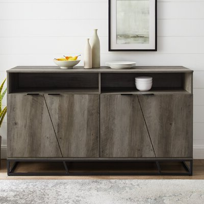 Newest Grey Sideboards & Buffets You'll Love In  (View 17 of 30)