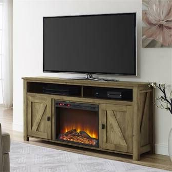 """Newest Inglenook Tv Stand For Tvs Up To 65 Inches With Fireplace With Greggs Tv Stands For Tvs Up To 58"""" (View 9 of 30)"""