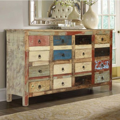 """Newest Macdonald 36"""" Wide Mango Wood Buffet Tables Within Invite Your Inner Artist Out To Play And Then Organize (View 19 of 30)"""