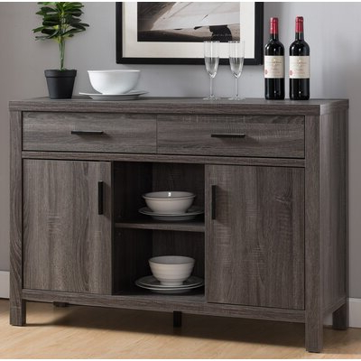"""Newest Rustic & Farmhouse Sideboards, Buffets & Buffet Tables You Pertaining To Keiko 58"""" Wide Sideboards (View 16 of 30)"""