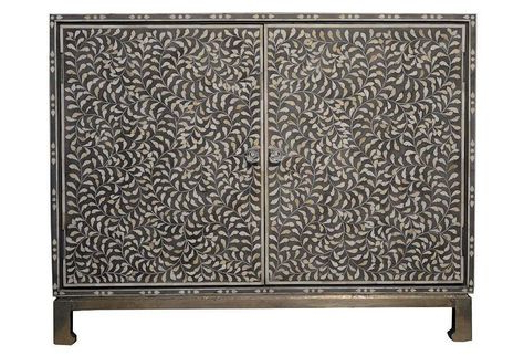 """One Kings Lane – Trend Alert – Cedar Sideboard, Gray Intended For Newest Macdonald 36"""" Wide Mango Wood Buffet Tables (View 26 of 30)"""