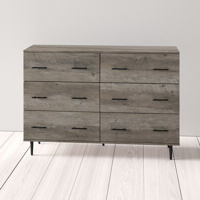 """Orianne 55"""" Wide 2 Drawer Sideboards Intended For Popular Modern Sideboards + Buffets (View 7 of 30)"""