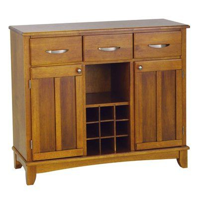 """Orner Traditional Wood Sideboards Intended For Famous Andover Mills Presswood Traditional 42"""" Wide 3 Drawer (View 7 of 30)"""