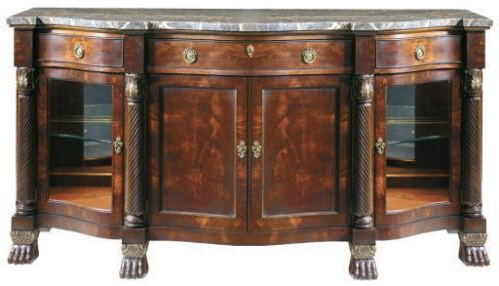 Orner Traditional Wood Sideboards Within 2020 Traditional Buffet Sideboard Henredon (View 13 of 30)