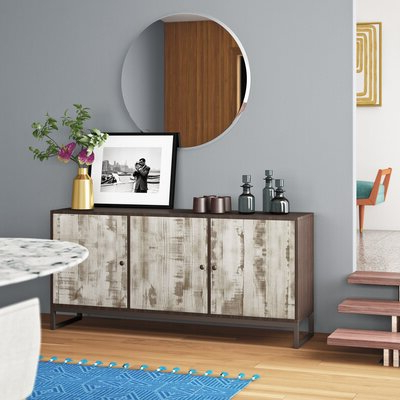 """Palisade 68"""" Wide Sideboards In Recent Modern White Sideboards + Buffets (View 11 of 30)"""