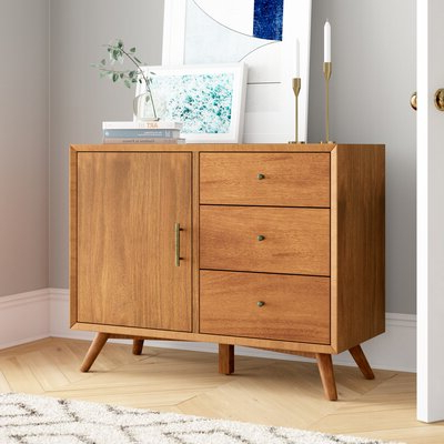 """Pandora 42"""" Wide 2 Drawer Servers In Favorite Sideboards & Buffet Tables You'll Love In  (View 30 of 30)"""