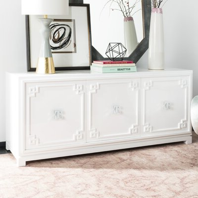 """Pandora 42"""" Wide 2 Drawer Servers With Regard To Best And Newest White Sideboards & Buffets You'll Love In  (View 3 of 30)"""