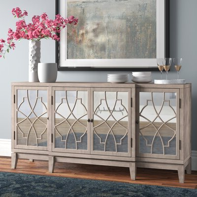 """Pandora 42"""" Wide 2 Drawer Servers With Regard To Fashionable Sideboards & Buffet Tables (View 10 of 30)"""