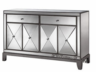 """Pardeesville 55"""" Wide Buffet Tables Throughout Favorite 55 Inch Height Mirrored 4 Door Sideboard , Luxury Devin (View 30 of 30)"""