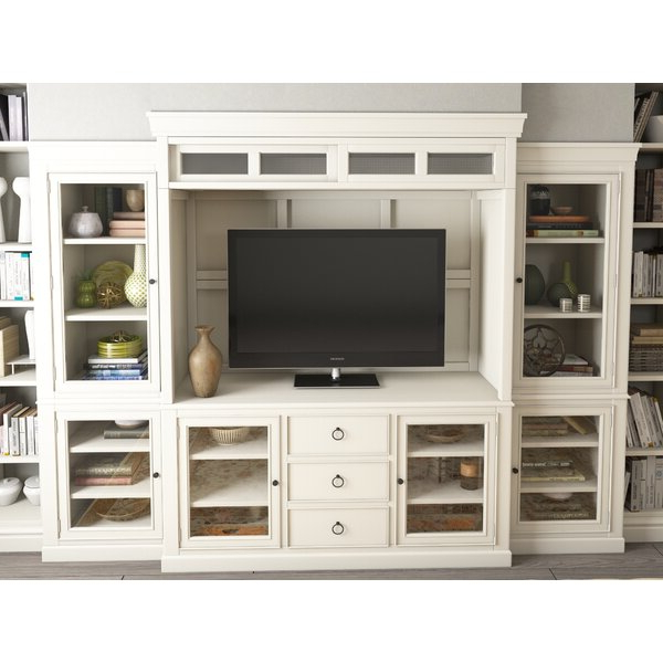 """Payton Entertainment Center For Tvs Up To 70"""" & Reviews Throughout Well Known Blaire Solid Wood Tv Stands For Tvs Up To  (View 11 of 30)"""