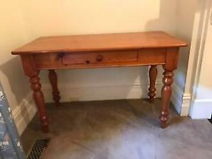 Pine Console Table/hall Table With Drawer (View 21 of 30)