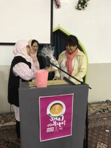Pink Ribbon Breakfast – Islamic Ahlulbayt Foundation Of For Famous Aliya Sideboards (View 14 of 30)