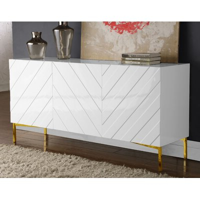 """Popular 64"""" Wide Rubberwood Sideboards Inside White Sideboards & Buffets You'll Love In  (View 27 of 30)"""