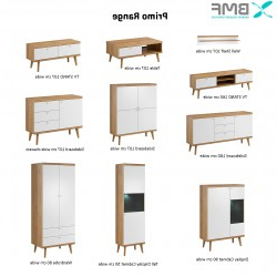 """Popular Bruin 56"""" Wide 2 Drawer Sideboards Pertaining To Bmf Primo 10 Wardrobe 80cm Wide Drawers 2 Doors Legs Modern (View 29 of 30)"""