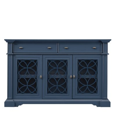 """Popular Bruin 56"""" Wide 2 Drawer Sideboards Regarding Manhattan Comfort Sideboards & Buffets You'll Love In  (View 11 of 30)"""