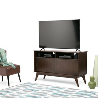 """Popular Herington Tv Stands For Tvs Up To 60"""" Pertaining To Top Product Reviews For Wyndenhall Tierney Solid Hardwood (View 11 of 30)"""