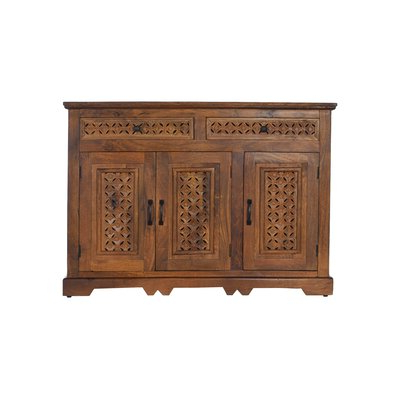 Popular Narrow Sideboard / Credenza Sideboards & Buffets You'll With Salina  (View 16 of 30)
