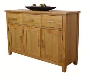 Popular Nebraska Oak – Large Sideboard / 3 Door 3 Drawer Storage Regarding 3 Drawer Sideboards (View 5 of 30)