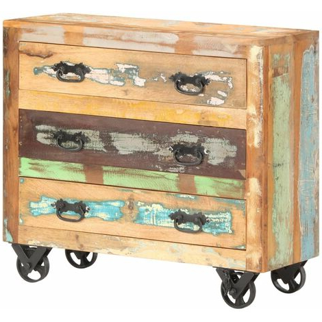 "Popular Strock 70"" Wide Mango Wood Sideboards For Best Price Cupboard On Wheels (View 24 of 30)"