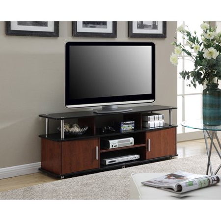 """Preferred Convenience Concepts Designs2go Xl Monterey Tv Stand For Within Evanston Tv Stands For Tvs Up To 60"""" (View 13 of 30)"""