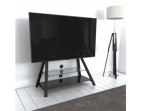 """Preferred Finnick Tv Stands For Tvs Up To 65"""" With Regard To Avf Options Easl925a Easel Cantilever Tv Stand For Up To (View 11 of 30)"""