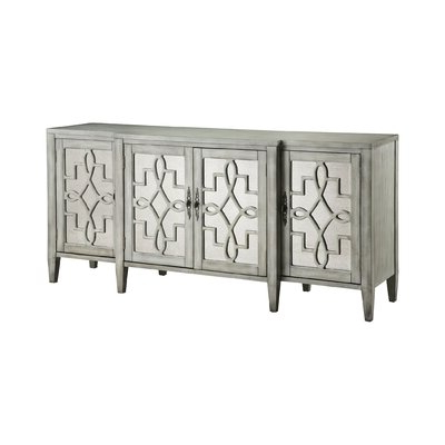 """Preferred Fugate 48"""" Wide 4 Drawer Credenzas Inside Mirrored Sideboard & Buffet Tables You'll Love In (View 9 of 30)"""