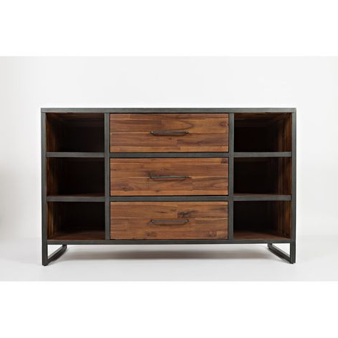 """Preferred Goncalo 52"""" Wide 3 Drawer Sideboard (View 20 of 30)"""