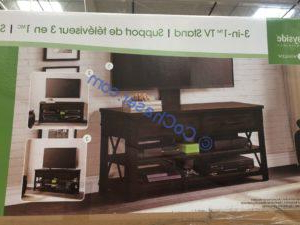 Preferred Kemble Tv Stands For Tvs Up To 56 Throughout Costco 1288035 Bayside Furnishers Walton 56 Inch 3 In 1 Tv (View 25 of 30)