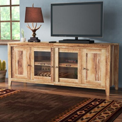 """Preferred Lederman Tv Stands For Tvs Up To 70"""" Inside 70 Inch And Larger Rustic Tv Stands & Entertainment (View 6 of 30)"""