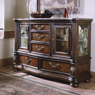Preferred Marble & Granite Sideboards & Buffets You'll Love (View 5 of 20)