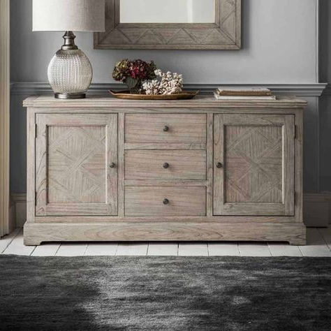 Preferred Martinique 2 Door 3 Drawer Sideboard (View 24 of 30)