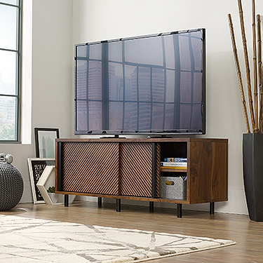 Preferred Park Credenzas With Sauder Harvey Park Entertainment Credenza (420833) – The (View 3 of 30)