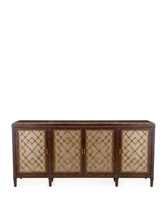 """Preferred Searsport 48"""" Wide 4 Drawer Buffet Tables Inside Pin On Credenza, Cabinets & Sideboards (View 9 of 30)"""