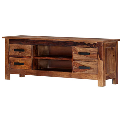 """Quillen Tv Stands For Tvs Up To 43"""" Throughout Widely Used Vannessa Solid Wood Tv Stand For Tvs Up To 43""""millwood (View 6 of 30)"""