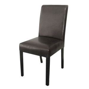 Rayden Pu Upholstered Dining Chair – Black/wenge For Current Rayden Sideboards (View 18 of 30)