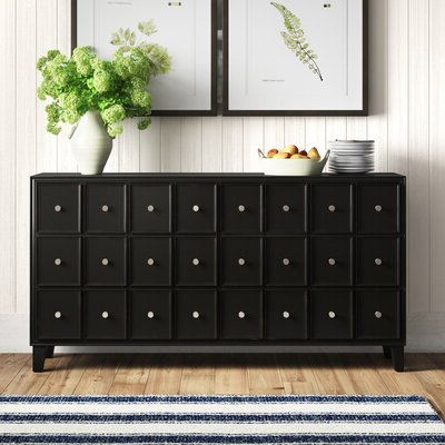 """Recent 64"""" Wide Rubberwood Sideboards Regarding Farmhouse & Rustic Sideboards & Buffets – Made To Last (View 22 of 30)"""